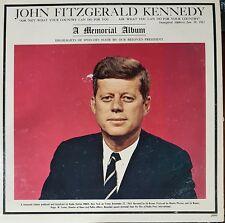 John Fitzgerald Kennedy JFK A Memorial Album SPEECHES RECORD LP 33 rpm