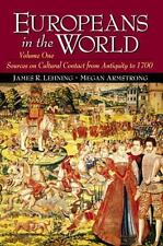 Europeans in the World, Volume I: Sources on Cultural Contact from Antiquity to