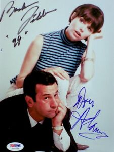 Get Smart Don Adams Barbara Feldon Hand Signed Autograph Photo 8x10 PSA/DNA COA