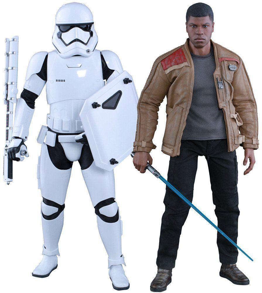 Movie Masterpiece Estrella Wars Finn & primera orden Stormtrooper 1 6 Figura Hot Juguetes