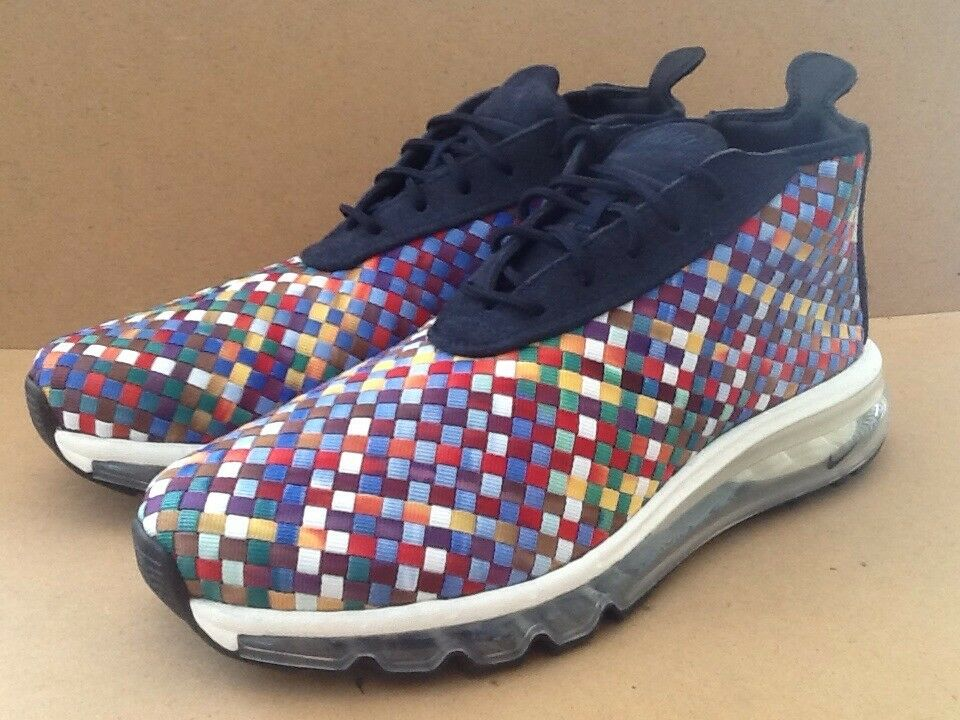 Nike Air Max Woven Boot SE AH8139 400 Size 9.5 Men
