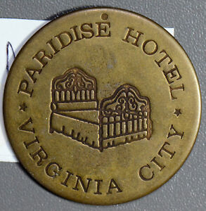 U0055-Paridise-Hotel-Token-virginia-city-combine-shipping
