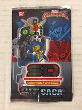 Gundam Force Saga SD CCG TCG 12-card Booster Pack 2 pack lot