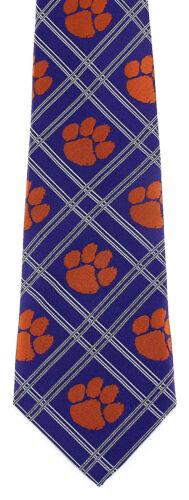Clemson Tigers Men/'s Necktie South Carolina University College X Logo Neck Tie
