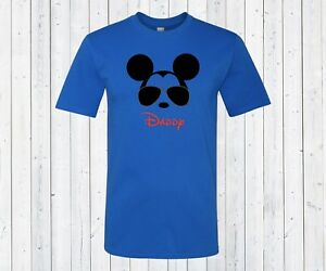 e8c9f74b Disney's Cool Mickey Mouse Sunglasses Daddy Mens Shirt. Gift for dad ...