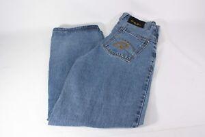 Brooklyn-Express-Jeans-Mens-32-X-32-Baggy-Urban-Loose-Fit-Denim