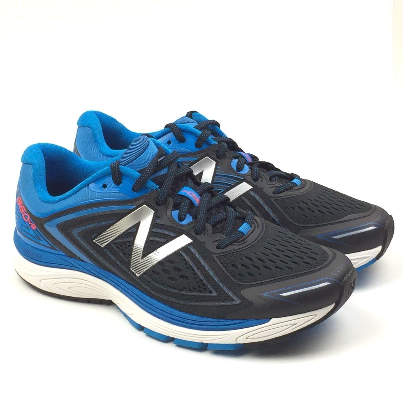 herren NEW BALANCE 860v8  Running schuhe Größe 11  schwarz Blau