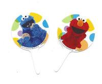 Elmo & Cookie Monster Sesame Street Fun Pix 12 Ct From Wilton 3470 -