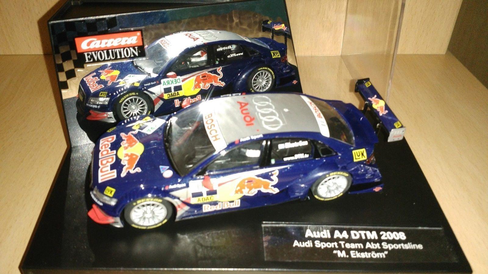 Scalextric carrera Audi a4 DTM 2008