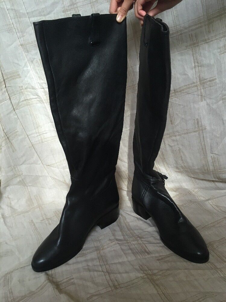 3e7758bc7fcf Kelsi Dagger Cuero botas, Zapatos para tamaño 8.5M mujer, Negro ...
