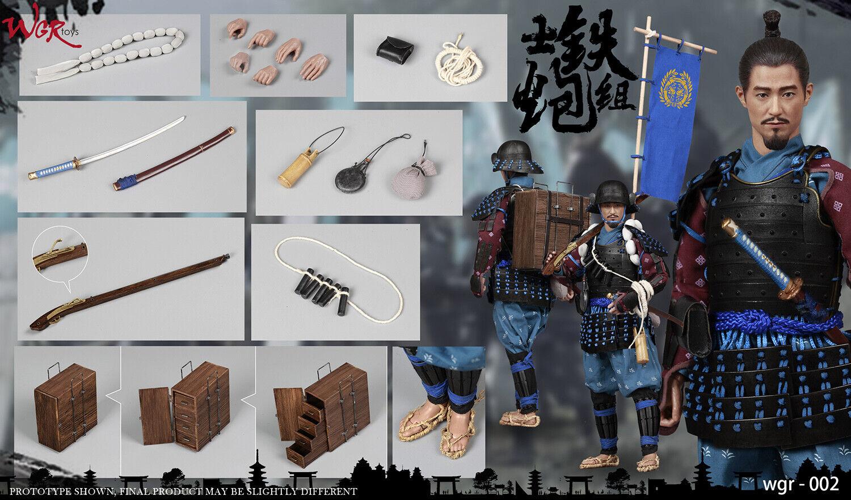 WGRtoys WGR002 1 6 Samurai artilleur Group Captain  combat action figure Enfant cadeau  bienvenue pour acheter