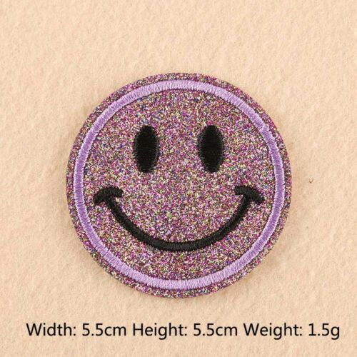 Embroidery Smiley Face Patch Expression Clothes Patches T-shirt Bag Decor