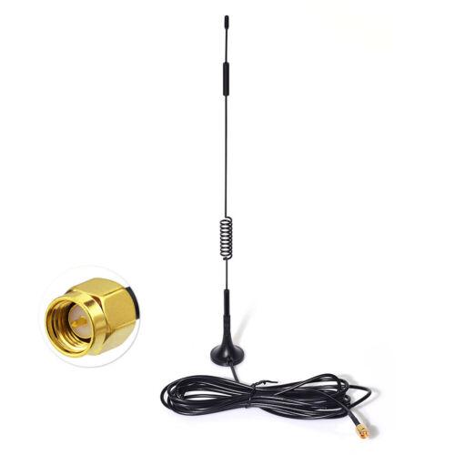 868MHz 915MHz 2.4GHz LoRa Z-Wave Zigbee Smart Home 7dBi Magnetic Base Antenna