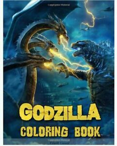 Details About Godzilla Coloring Book Great Coloring Book For Any Paperback 2019 R