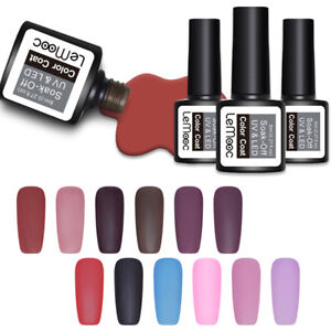 LEMOOC-Matte-Soak-Off-UV-Gel-Polish-Colorful-Nail-Art-Gel-Varnish-DIY