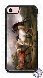 Horses-Playing-in-the-field-Design-Phone-Case-fits-iPhone-Samsung-LG-Google-etc