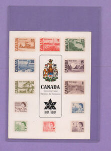 Stamps-Canada-Centennial-Issue-1867-1967