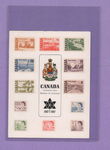 Stamps, Canada Centennial Issue 1867/1967