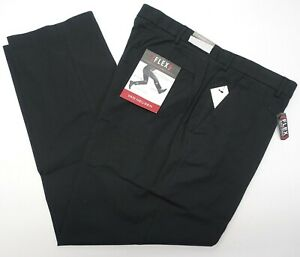 28043c5c Mens Van Heusen Pants 33x32 Flex Oxford Chino Mens Straight Fit Flat ...