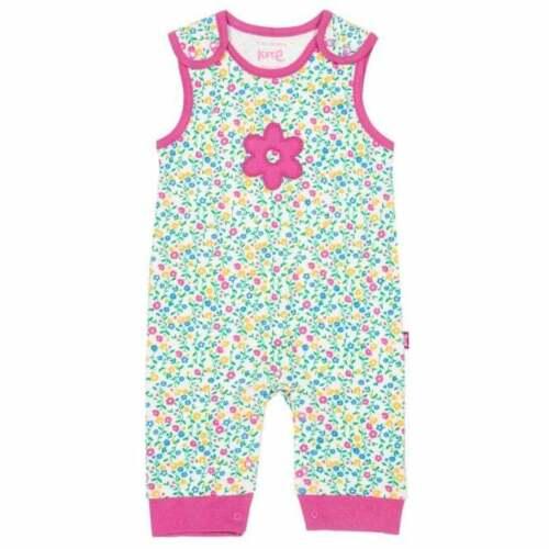 Kite Clothing Organic Cotton Baby Dungarees Wildflower
