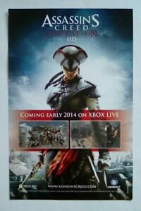 Rare Promotional Flyer Insert Assassin S Creed Liberation Hd