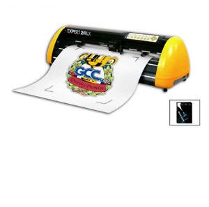 Vinyl Cutter Software >> New 24 Gcc Expert Lx Ii Vinyl Cutter And Cutting Software Winpcsign