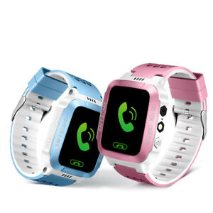 Kids Smart watch GPS APP Tracker SOS Call Safe Wristwatch