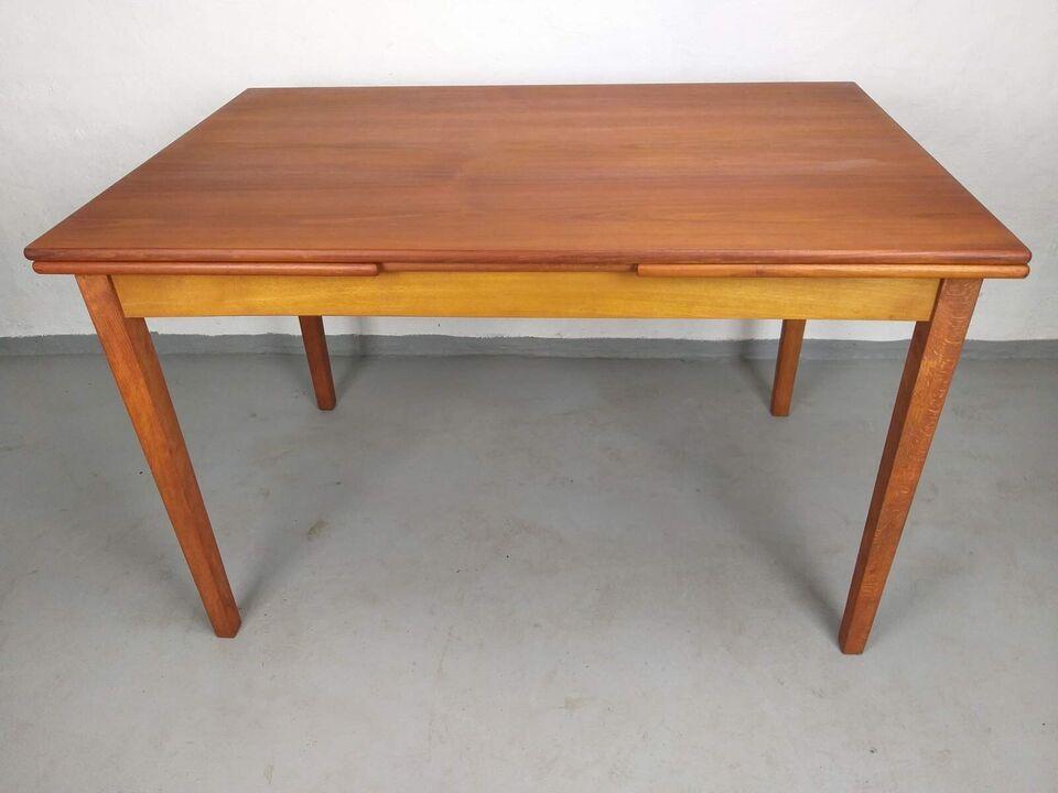 Spisebord, Teaktræ