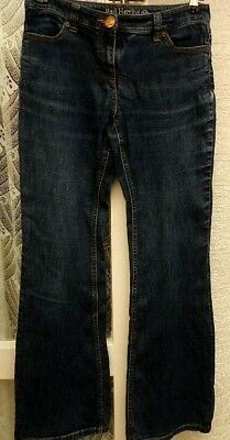 """100% Vero (rif. 804) Red Herring-taglia 10 W 30"""" - Donna Blu Jeans Bootcut/pantaloni-mostra Il Titolo Originale"""