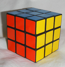 Retro Rubiks / Rubics Style Puzzle Cube - Traditional Design - BNIB