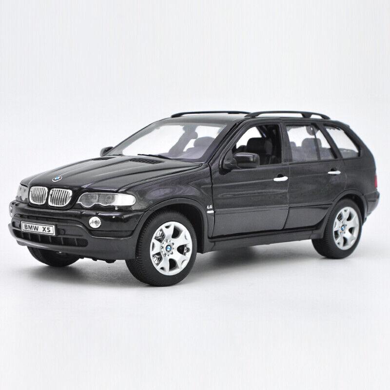 Welly neuf échelle 1 18 noir BMW X5 Diecast doecast Modèle Jouet Voiture Cars avec étui