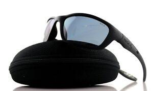 28393dbeec32 RARE Genuine WILEY X BRICK Black Ops Matte Black Smoke Grey ...