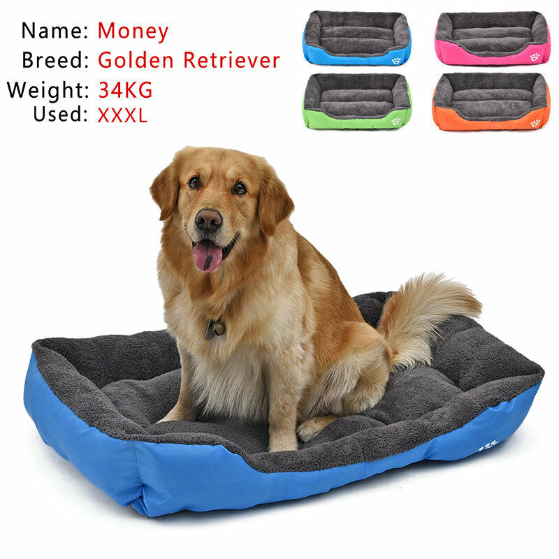 Large Pet Dog Cat Bed Puppy Cushion House Pet Soft Warm Kennel Dog Mat Blanket 2
