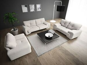 Sofagarnitur Sofa Set Couch 3er 2er Sessel 3 2 1 Polstergarnitur