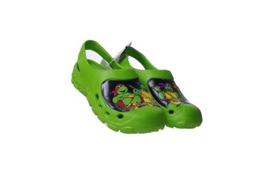 Boys Teenage Mutant Ninja Turtles Slip On Water Clog Shoes 7 8 9 10 13 1 2 3 NEW