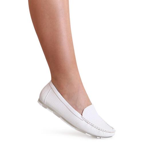 Damen Slipper Halbschuhe Ballerina Loafer Mokassins Slip On Flats Freizeit