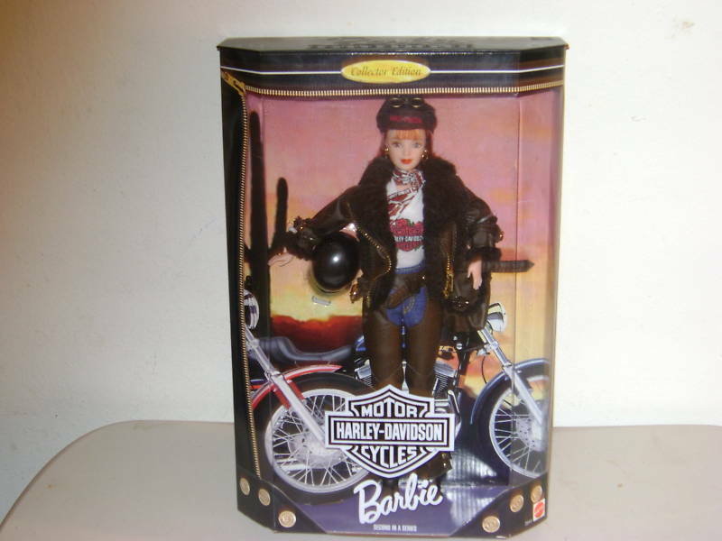 Barbie Tru Exclusivo Harley-davidson (204 41) Mib