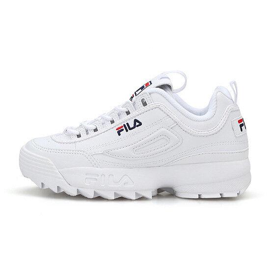 preferente 2019 Fila Para Mujer Zapatos Tenis Tenis Tenis Disruptor II 2-blancooo (FS1HTB1071X FS1HTA1071X)  descuento de ventas en línea