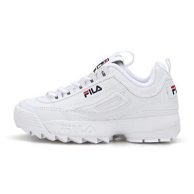 f50a93ed0 2019 New Original FILA Women Disruptor II 2 Shoes Sneakers -  White(FS1HTB1071X) | eBay