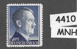 #4410   MNH Adolf Hitler stamp Sc527a / 5RM / 1942 / WWII Third Reich Germany