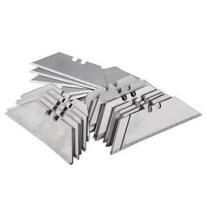 100pcs-Utility-Knife-Blade-Cutter-Razor-Cut-Steel-Standard-Garden-Utility-Knives