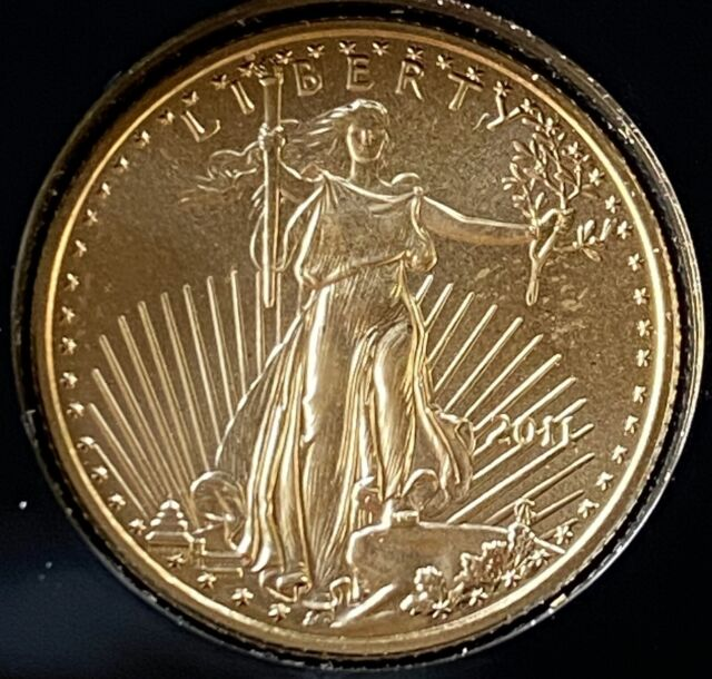 2011 Gold $5 UNCIRCULATED American Eagle 1/10th Oz.