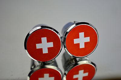 Flag of Austria Handlebar End Plugs Bar Caps lenkerstopfen bouchons Österreich