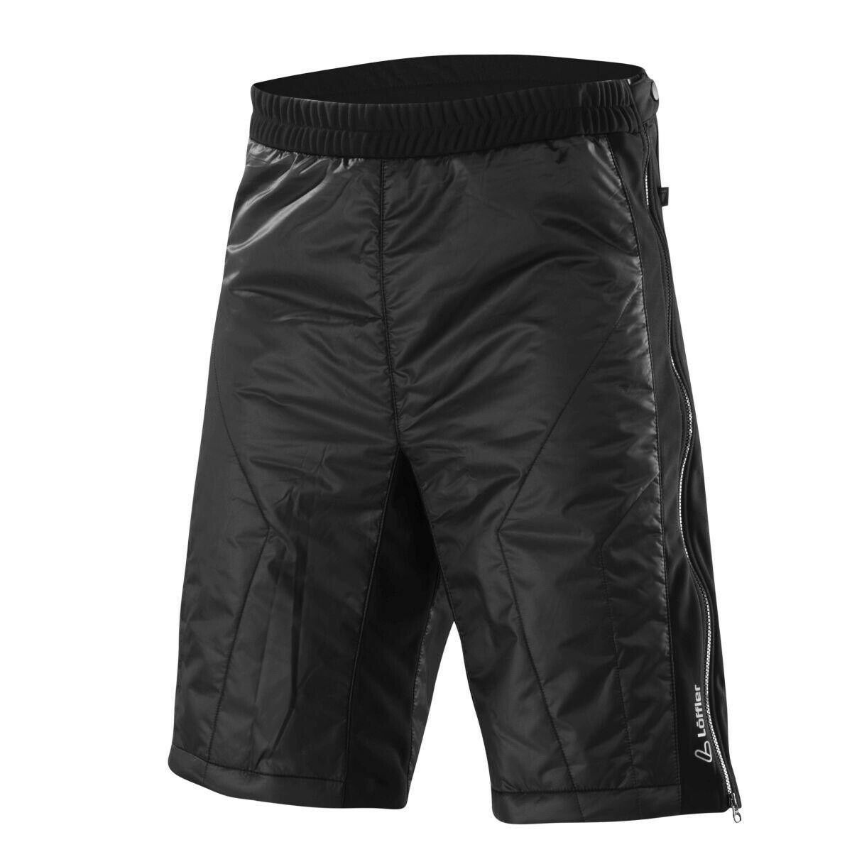 Löffler Shorts Primaloft Mix Funktionshose kurz schwarz