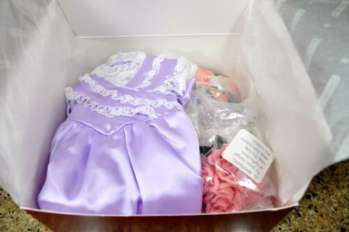 American Girl Samantha Bridesmaid Dress Wedding NIB Outfit New in Box Retired