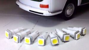 Details about VW Bay LED T2 1967-1979 Camper Van Complete Dash Gauge &  Warning Lights Set