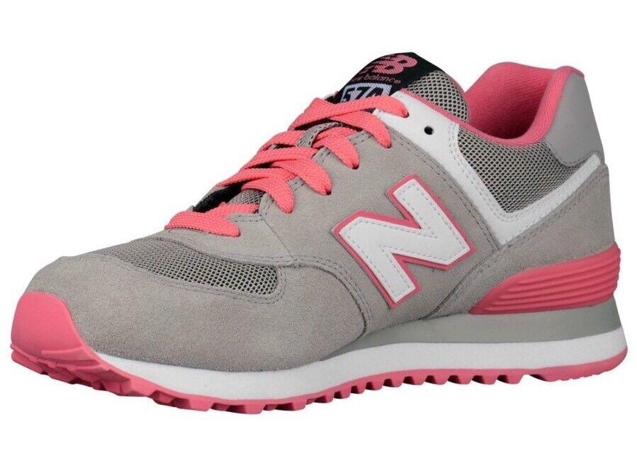 New New New Balance Damens's Running Sneakers Schuhes Größe 8 Pink Grau WL574CPF 975c56