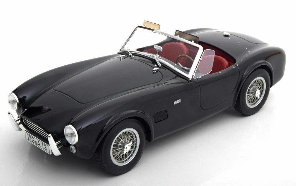1 18 norev 182754 - 1963 Shelby Cobra 289 nero