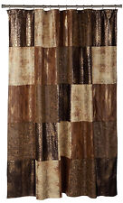 "Popular Bath Zambia Copper Collection - 70"" x 72"" Bathroom Shower Curtain"