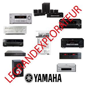 Yamaha rxv671 service manual download, schematics, eeprom, repair.